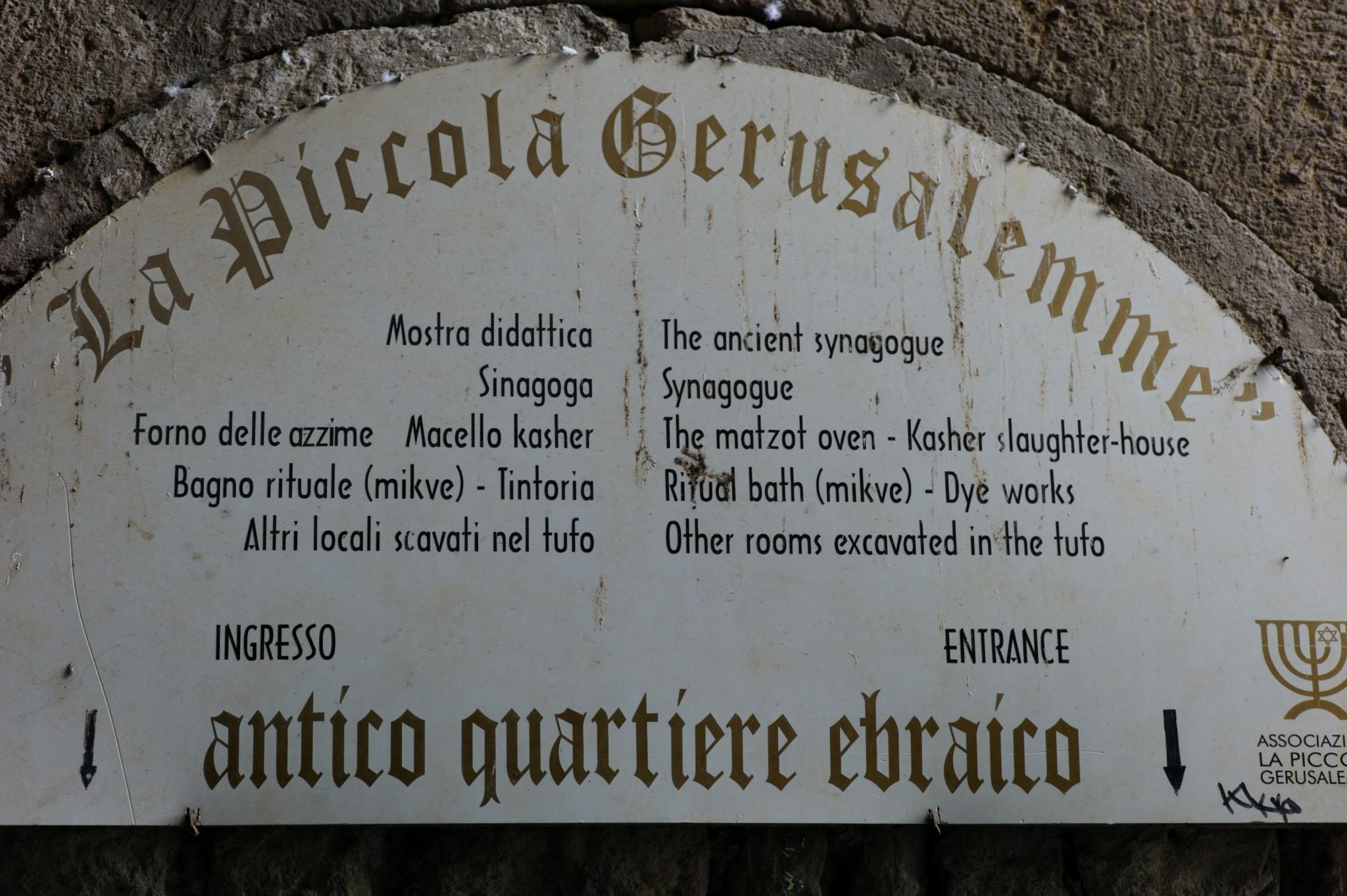 Pitigliano Toscane (Italy)